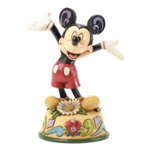 April Mickey Mouse Figurine