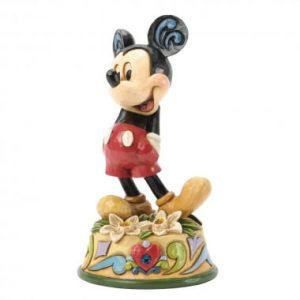 December Mickey Mouse Figurine