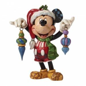 Deck The Halls (Mickey Mouse Figurine)
