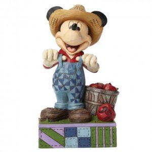 Fresh From The Farm (Farmer Mickey Mouse Figurine)