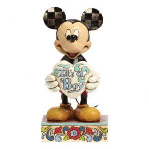 It's a Boy (Mickey Mouse Figurine)