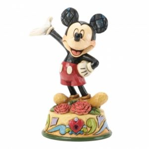 January Mickey Mouse Figurine