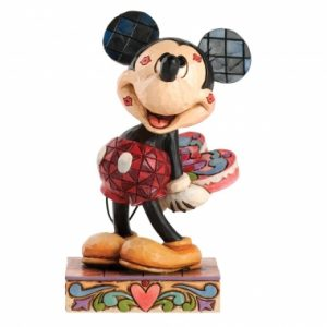 Love Struck (Mickey Mouse with Kisses Figurine)