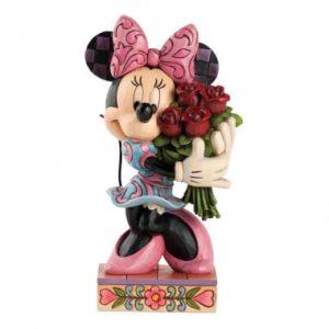 Le Vie en Rose (Minnie Mouse with Flowers Figurine)