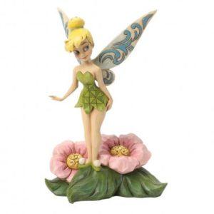 Flower Fairy (Tinker Bell Standing on Flower Figurine)