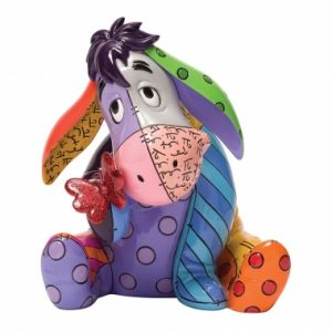 Eeyore with Butterfly Figurine
