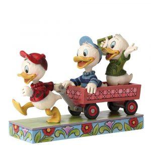 Here Comes Trouble (Huey Dewey & Louie Figurine)