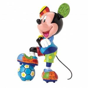 Mickey Mouse Football Figurine