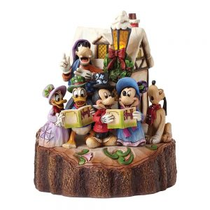 Holiday Harmony (Mickey Mouse & Gang Caroling Figurine)