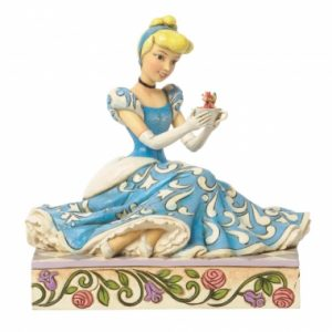Caring and Courageous (Cinderella with Jaq & Gus Figurine)