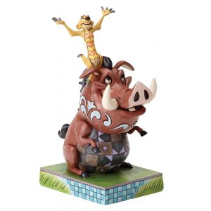Carefree Cohorts (Timon and Pumbaa Figurine)